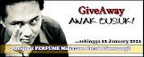 GiveAway EdY : Awak Busuk!