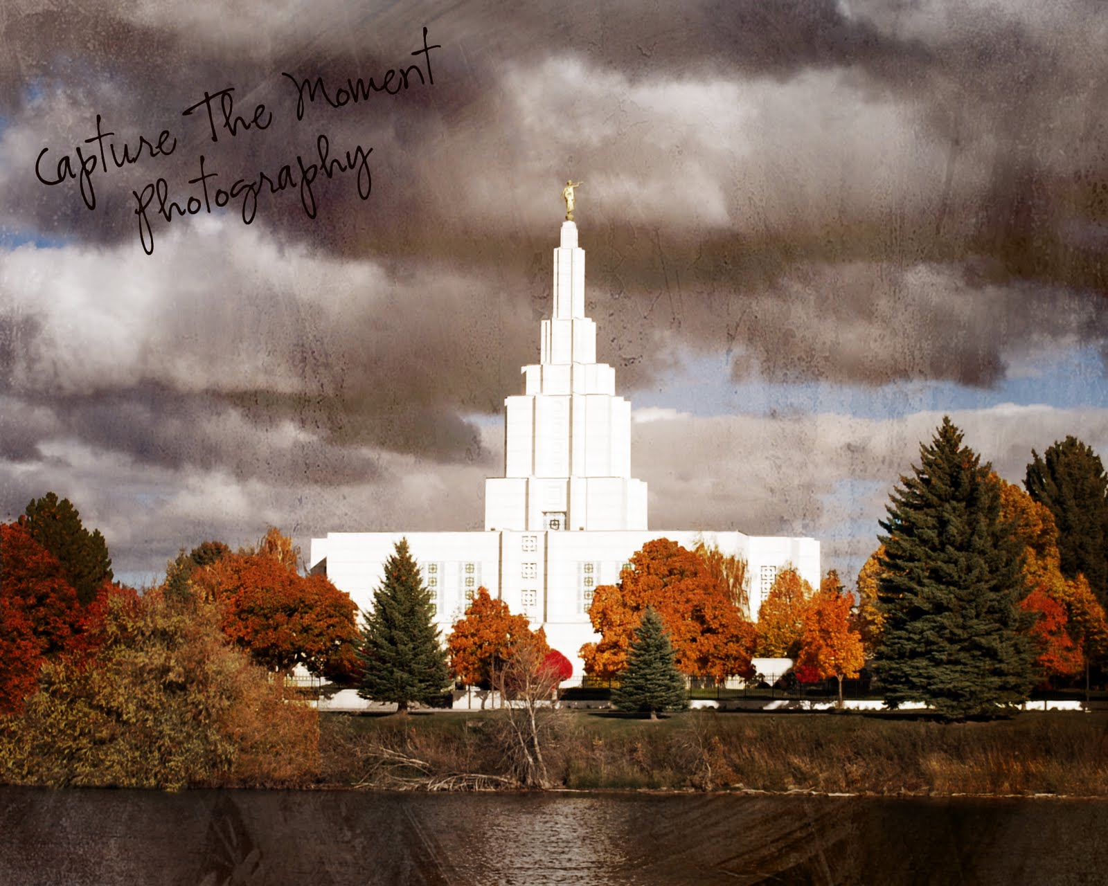 Idaho Falls Temple Antique Pictures. Posted by Capture The Moment Photography at 2:52 PM