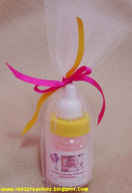 christening giveaways