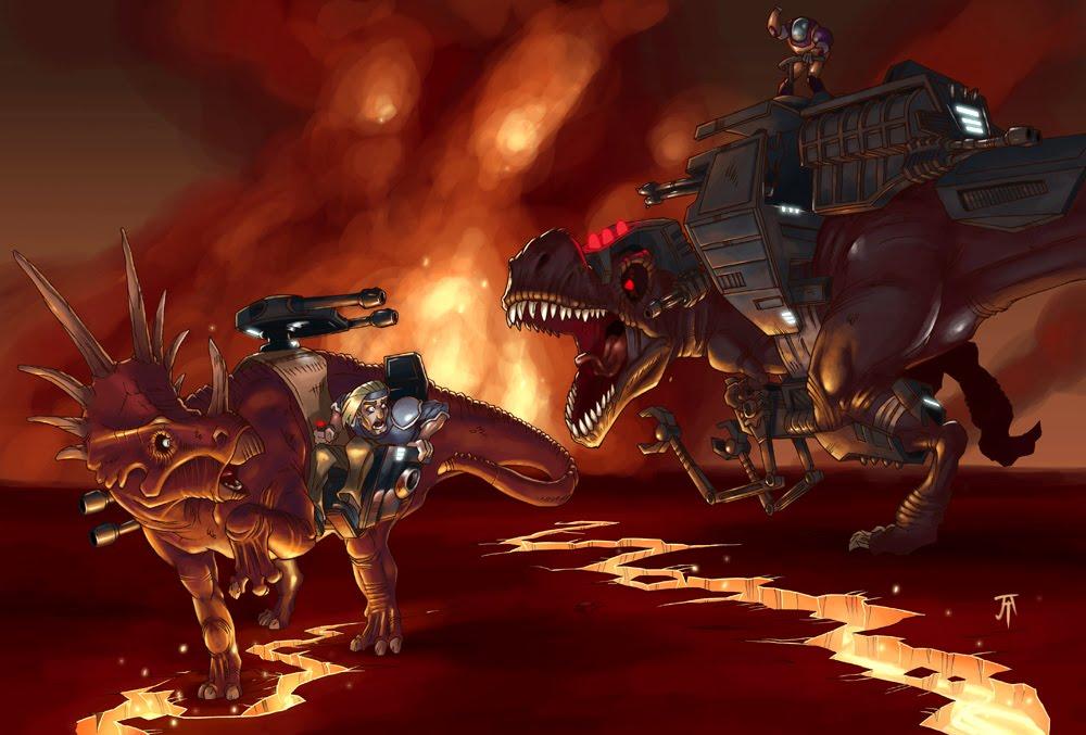 Dinoriders [1988– ]