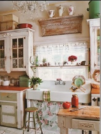 Shabby Chic Kitchens