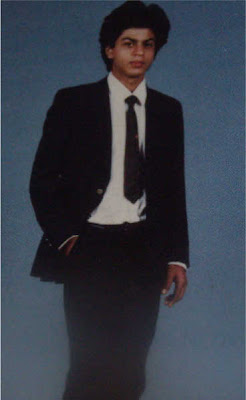 shahrukh khan during his college days
