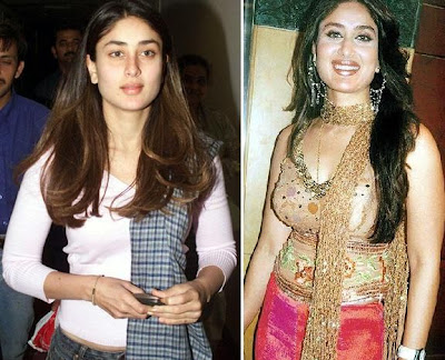 Indian Hindi actress without makeup photo.Bollywood actress Kareena Kapoor
