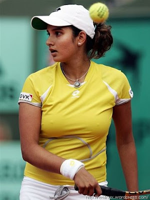 sania mirza photos. Sania Mirza created history by
