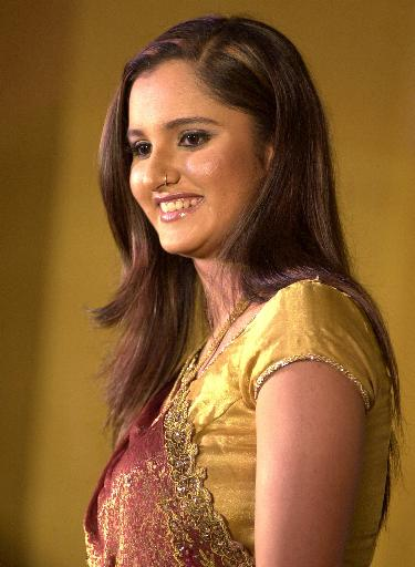 Sania Mirza in Beautiful Saree