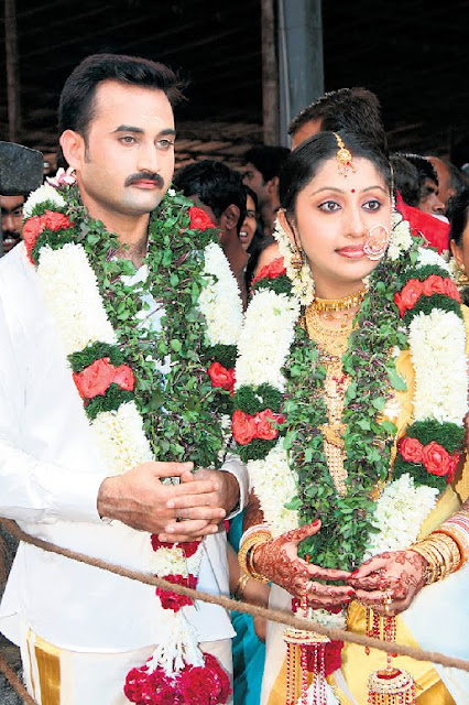 Actress Nithya das wedding photo