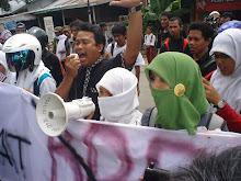 Aksi AMSA (Aliansi Masyarakat  sipil Aceh)