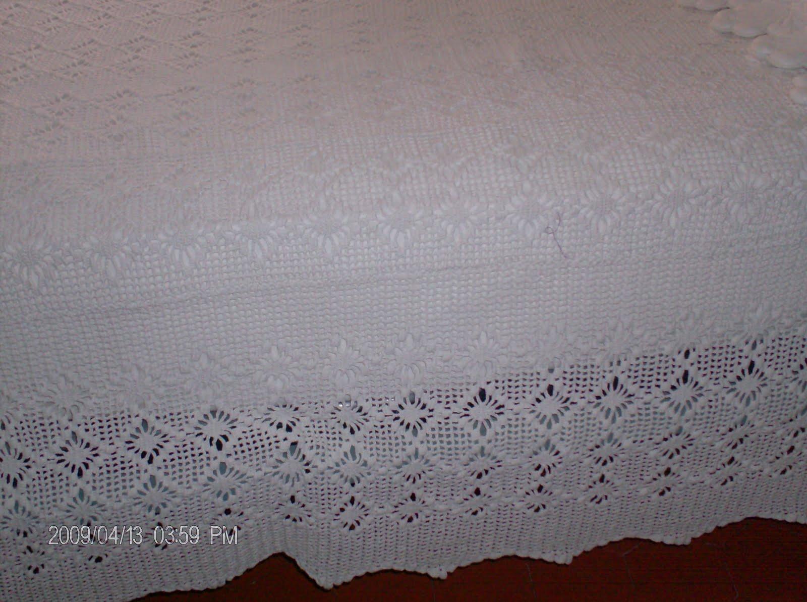 boutis art et merveilles le couvre lit au crochet. Black Bedroom Furniture Sets. Home Design Ideas