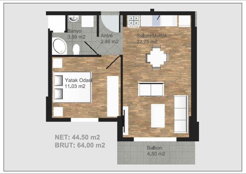 Hayalinizdeki evin metrekaresi ne emlak gurmesi for 30 m2 salon dekorasyonu