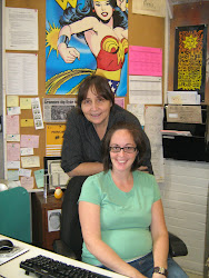 Staff Pic: Anita Court & Jane Fonseca hard at work