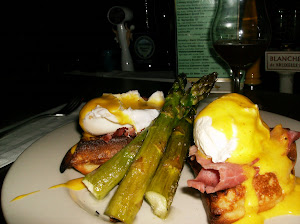 Eggs Benedict At the Belgian Cafe- THEY DO SATURDAY BRUNCH TOO!