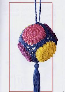 Crochet adornos navide os tejidos - Adornos navidenos crochet ...