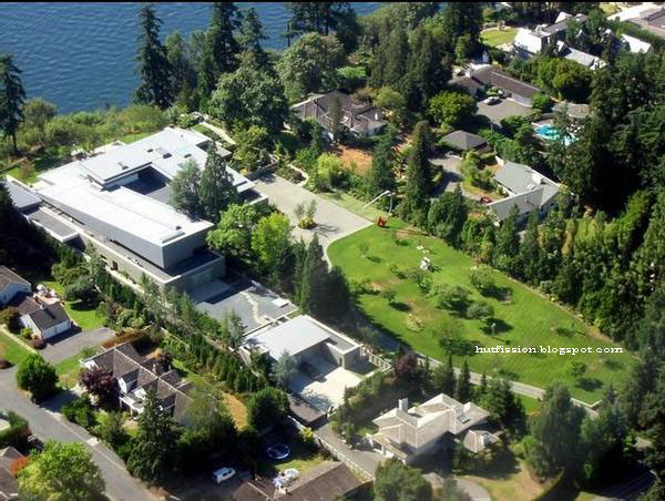 Bill Gates mansion in