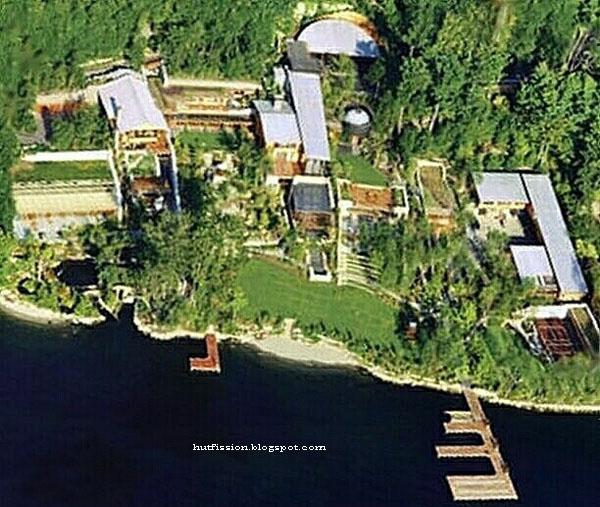 Bill gates 97 million dollar house for Bill gates housse