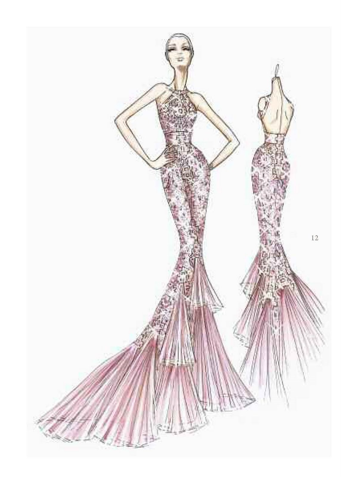61 best images about Versace Sketches on Pinterest ...