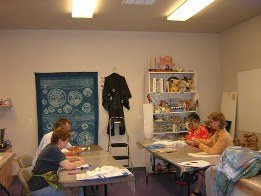 Teaching Shibori