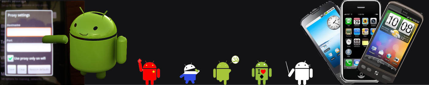 Setting Proxy in Android Phones