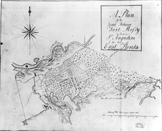 ... north of St. Augustine in the 1730s, Fort Mose was the first free black ...