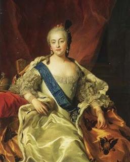 Russian Empress Yelizaveta Petrovna