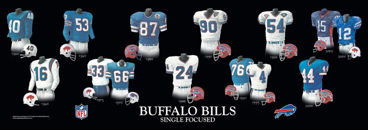 Heritage Uniforms and Jerseys: Buffalo Bills Franchise History - A ...