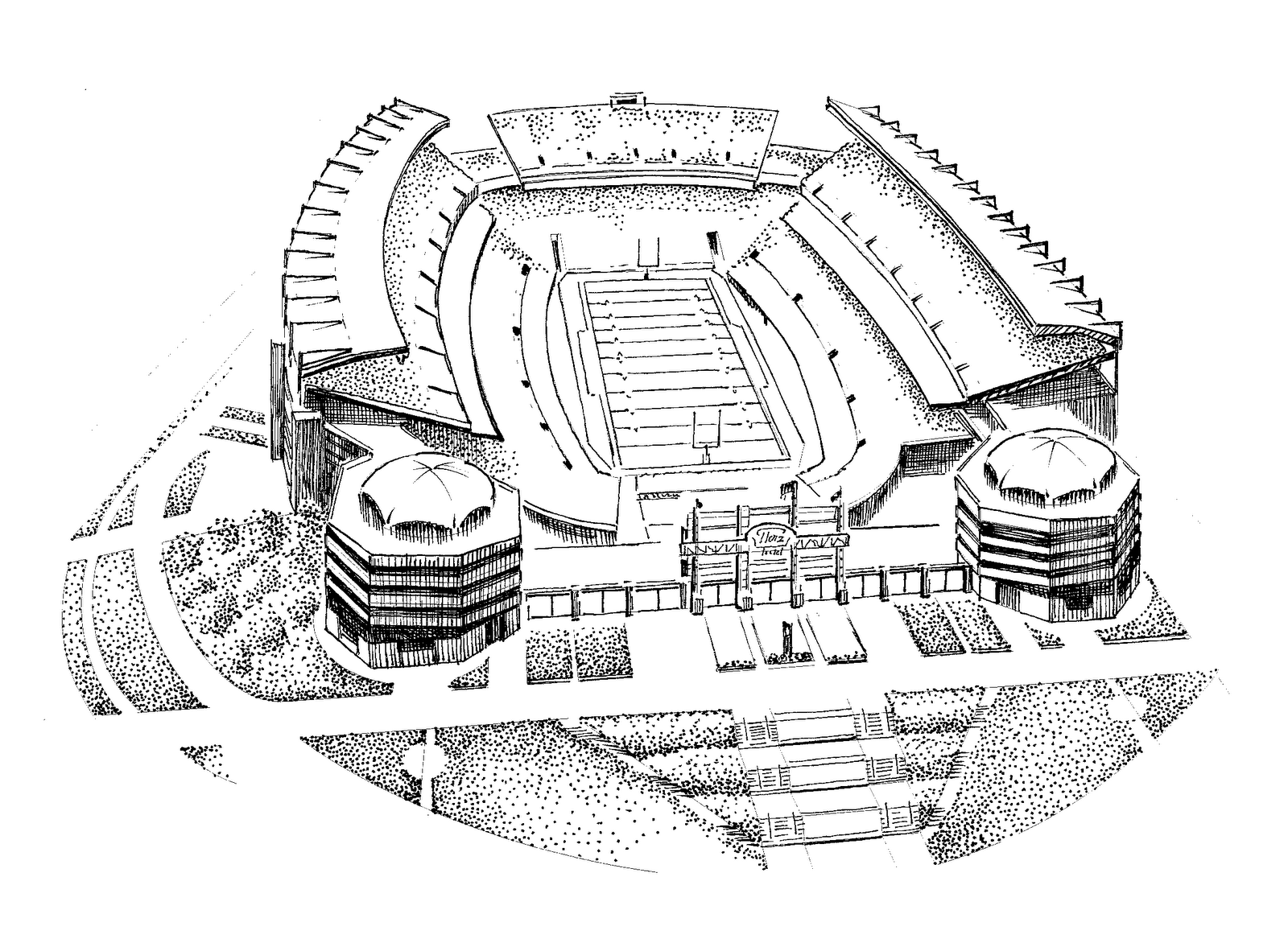 nfl stadium coloring pages - photo#19