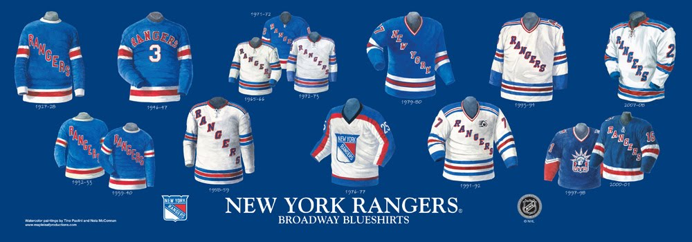 Rangers Sweater History