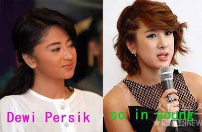 Dewi+persik+ +so+in+young Wow!!! Artis Indonesia Yang Mirip Artis Korea