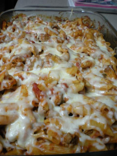 Make Ahead Pizza Casserole -- adapted from Pillsbury.com