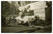 Auto antiguo de Curacautin