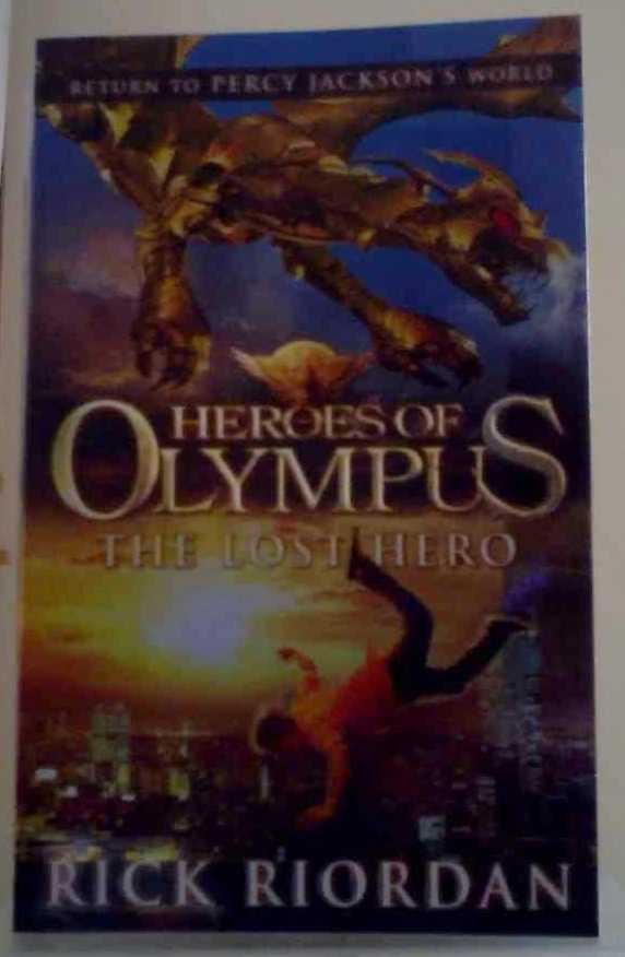 the lost hero book report Books online free the heroes of olympus #1 published : october 12th 2010.