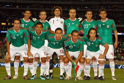 Mexico Angola Fotos del Partido, el Tri ganó y prepara el Mundial 2010