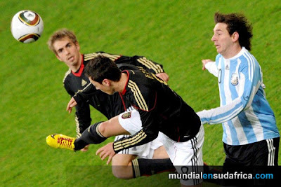 Argentina 1 vs Alemania 0, Messi