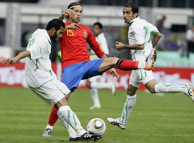 España 3 Arabia 2 Goles Video y Mejores Jugadas