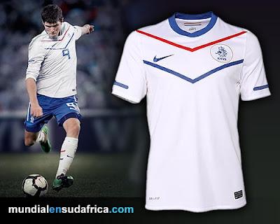 Camiseta Holanda Titular y Suplente 2010, Nike y los Leones de Naranja de Amsterdam
