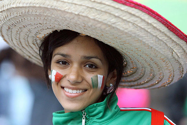 México, Fotos de sus Fanáticas y Chicas Lindas para el Mundial
