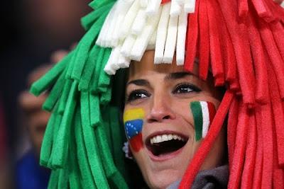 Galería de Fotos: Italia 1 Paraguay 1, Catenaccio, Lluvia y Lindas Chicas