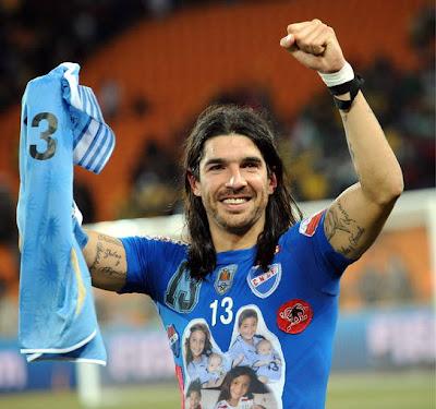 Galeria de Fotos Uruguay 1(4) vs Ghana 2(2): La Celeste entre los 4 mejores del Mundo, llora el continente africano