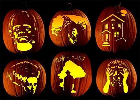 Free Pumpkin Carving Patterns - FTM