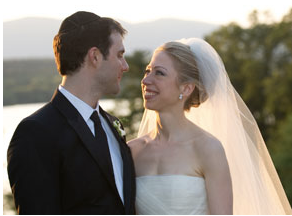 Chelsea Clinton and Mark Mezvinsky