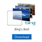 Bing Windows 7 theme