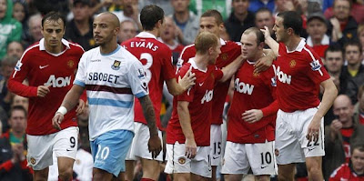 manchester united vs west ham united West Ham vs Manchester United Carling Cup tickets £5 £20