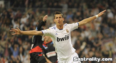 hasil real madrid vs Racing Santander