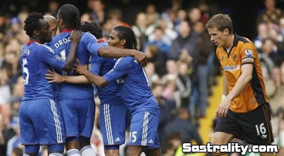 hasil Chelsea vs Wolves