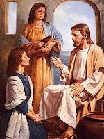 Jesus, Maria e Marta