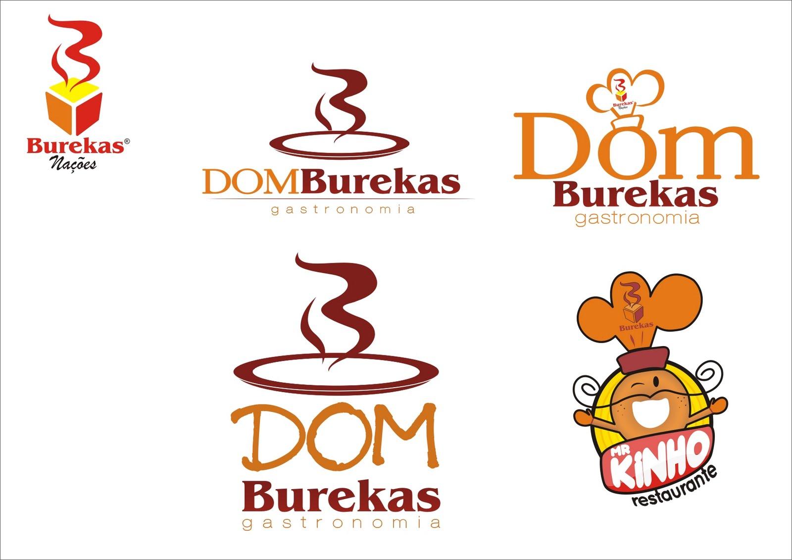 Proposta de logo para restaurante interno da Padaria Burekas