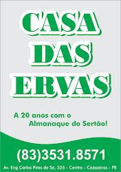 CASA  DAS ERVAS DE SEU ZE FIRMINO RAIZEIRO NOSSO PARCEIRO DO ALMANAQUE DO SERTAO