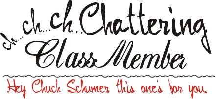 ch..ch...chattering Class Member