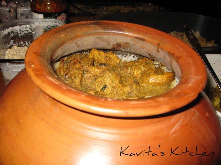 Chicken handi biryani - photo#5