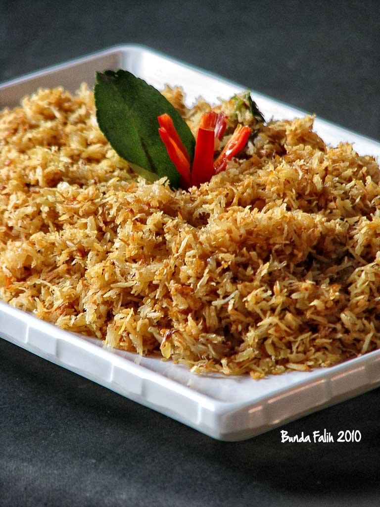 resep ini adalah resep warisan sebagai lauk pelengkap dalam nasi rames ...