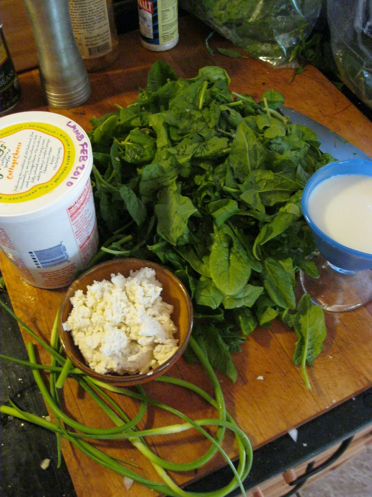 Local Food Letters: Recipe- Sorrel and Spinach Bisque